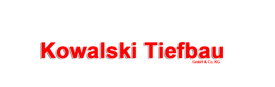 Kowalski Tiefbau GmbH & Co. KG • Tel.:+49 (0)4407-8125